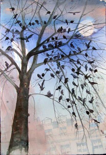 Quatre vingt dix oiseaux