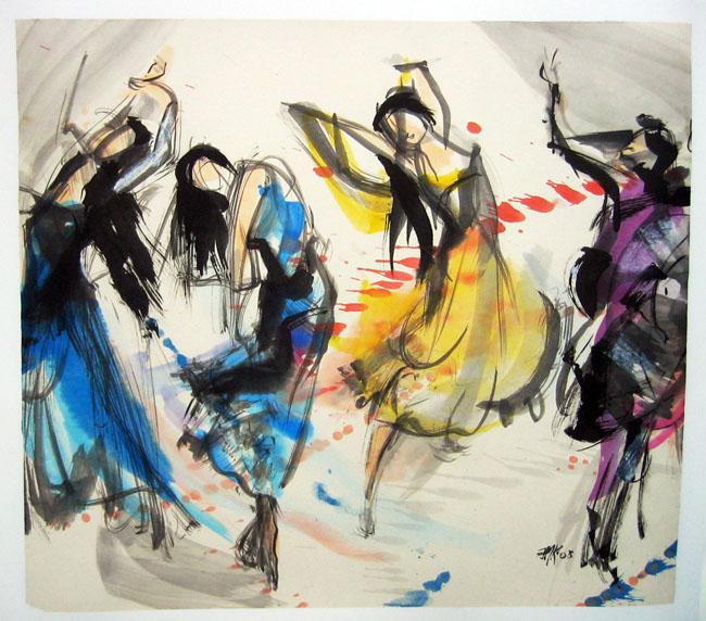 Danse 7 – Petites bacchantes