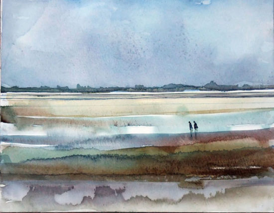 Esquisse en baie de Somme