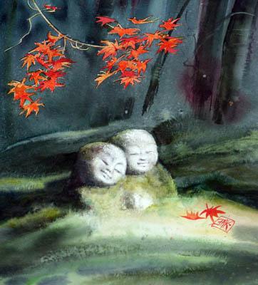 Les Kamis de la forêt