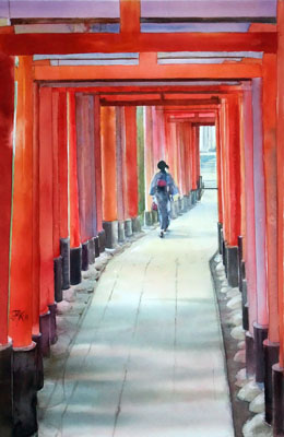 Les voies du Renard (Fushimi Inari)