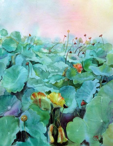 Lotus d'automne