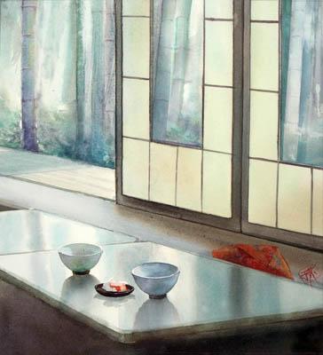 Un thé à Arashiyama