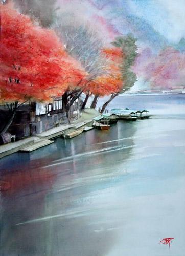 Automne sur la rivière Katsura