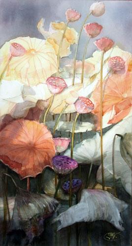 Lotus d'automne II