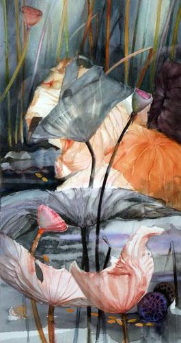 Lotus d'automne III