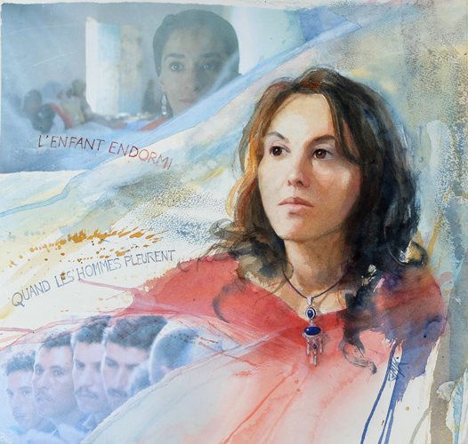 Portrait de Yasmine Kassari, réalisatrice