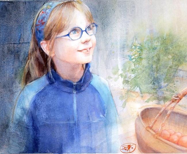 Salomé, huit ans